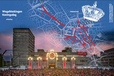 Maps4News is ready for Kingsday 2016 celebrations in Eindhoven! Check out the map and be prepared!