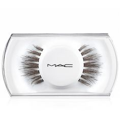 MAC 35 Lash ($17) ❤ liked on Polyvore featuring beauty products, makeup, eye makeup, false eyelashes, beauty, fillers, accessories, no color and mac cosmetics