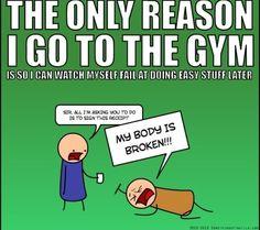 haha me after leg day