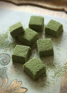 Green Tea Chocolate Truffles 1