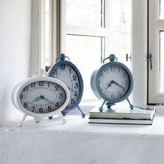 Uhr oval weiß von Nordal
