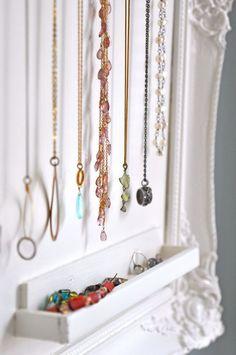 Design jewelry organizer wall display ideas (26)