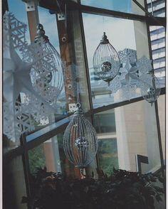 Christmas decorations I made for Home nightclub.