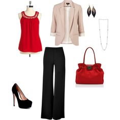Business wear, created by jess-xo-296 on Polyvore