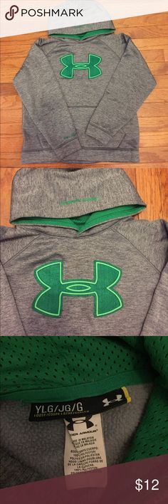 Under Armour Boys Hoodie Under Armour Boys Hoodie sz Large. Used but in great condition. Under Armour Shirts & Tops Sweatshirts & Hoodies
