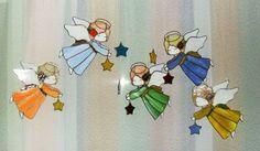 Купить или заказать Ангелов много..?!не бывает!!! в интернет-магазине на Ярмарке Мастеров. Хоровод очаровательных ангелов в разноцветных платьицах.Витраж Тиффани. Швы патинированы под бронзу. Цена указана за одного.при заказе от 3 и более предоставлю скидку. Возможны разные варианты цвета.