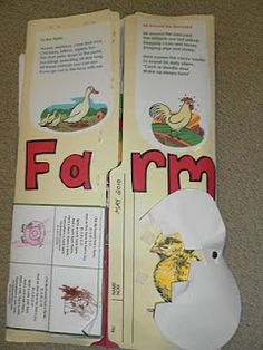 Farm Lapbook - cute for Creation - which came first the chicken or the egg????  :)