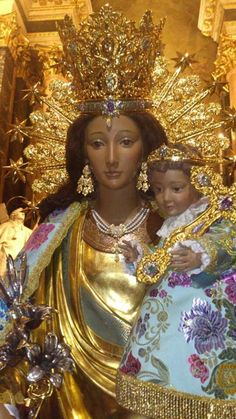Blessed Mother Mary, Blessed Virgin Mary, Catholic Art, Catholic Saints, Religious Images, Religious Art, Black Jesus, Christian Artwork, Mama Mary