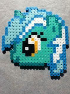 -Perler- Lyra Heartstrings Head by OtakuLuka.deviantart.com on @deviantART