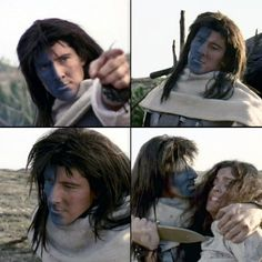 My first character crush, Methos (Peter Wingfield). Years later he's still up there. ;)