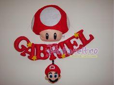 Fanta Feltro: Super Mario per Gabriel