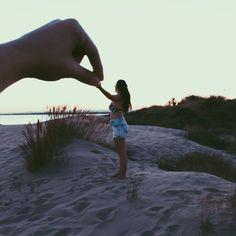 Beach and love!