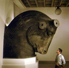 It's one of the sculpture of Perspolis