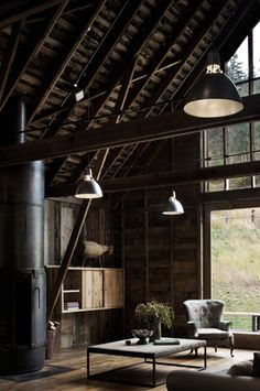I think it's so cool to convert a barn into a home. <3