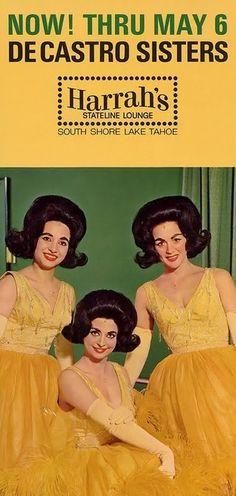 These gals look like a cross between Lynda Bird Johnson and Vampira. #vintageadvertising