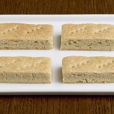 Cardamom adds just a subtle intriguing note to classic shortbread.