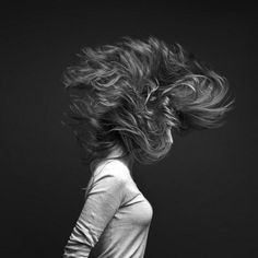 Try this one out -- shake the hair and see what you can capture.