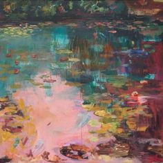 "Saatchi Art Artist Lies Goemans; Painting, ""What Lies Beneath 5"" #art"