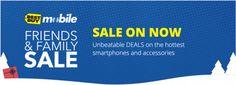 Best Buy Canada Mobile Friends & Family Sale: Smartphones & Accessories Deals www.lavahotdeals....