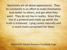 From Tina Fuller, creator of the Facebook survivor site Narcissistic Parent Answers.