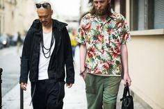 Paris Men's Fashion Week Spring 2015 Street Style