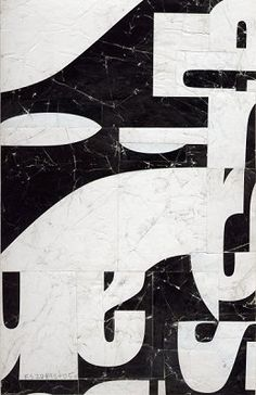 Suprematist Non-Objective Poetry  FS2089CT05 by Cecil Touchon 9x6 inches collage on paper