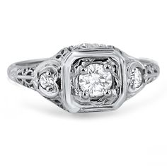 """The Sivan Ring from Brilliant Earth.  Why does this have to be an """"engagement"""" ring?? it would look gorgeous on any finger.  I would buy it for me, lol."""