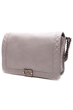 Chanel Boy Reverso is classic styling in larger than life proportions