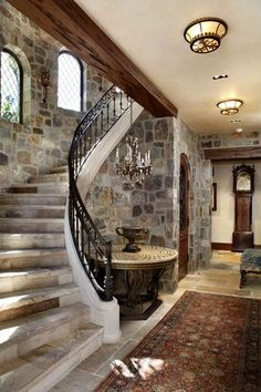 English Tudor  Hallway  TraditionalNeoclassical by Linda L Floyd Inc Interior Design