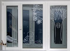 Расписные окна