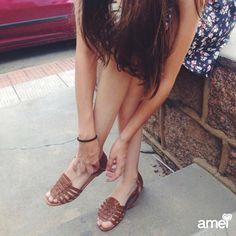 Calçar o que te conforta o resto deixa pra lá Seja leve❤️ #lojaamei #sandália #muitoamor #conforto #sejaleve