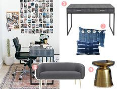 New Office Tour with MyDomaine