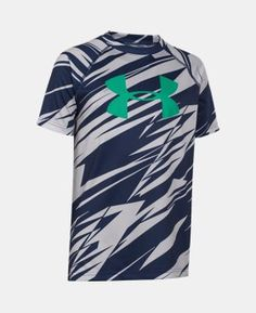 Best Seller Boys' UA Tech™ Big Logo Printed T-Shirt  13 Colors $18.99 to $24.99