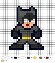 Catwoman BTAS Perler Bead Pattern