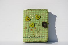 Hearts of Green by sandymairart on Etsy