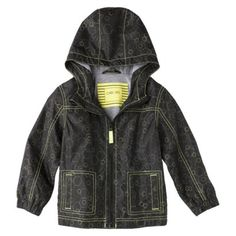 Fall 2013 Infant & Toddler boy collection is setting in target stores now! Love this jersey lined windbreaker for little guys, so hip!  Cherokee Infant Toddler Boys Raincoat