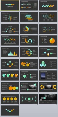 Infographic Report PowerPoint TemplateFeatures: Yellow market PowerPoint template Easy and fully editable in powerpoint (shape color, size, position, etc). PPT & pptx files for Ratio Powerpoint Examples, Infographic Powerpoint, Professional Powerpoint Templates, Creative Infographic, How To Create Infographics, Powerpoint Presentation Templates, Infographic Templates, Keynote Template, Infographics Design