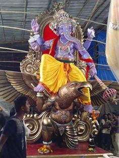 May Lord Ganesh bring you good luck and prosperity