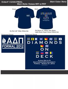Alpha Delta Pi Formal  http://www.greekt-shirtsthatrock.com/
