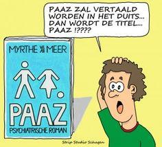 PAAZ in het Duits vertaald!