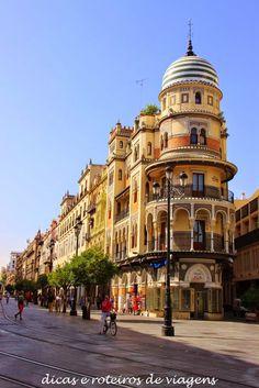 Sevilha - 1° Dia   Dicas e Roteiros de Viagens                                                                                                                                                                                 Mais