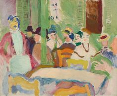 Icon of modern art. Raoul Dufy was born in 1877 and died in is a Fauve artist. The Galerie Fleury, specialist of Fauvism, buys and sells the works. Georges Seurat, Georges Braque, Raoul Dufy, Henri Matisse, Renoir, Pablo Picasso, Canvas Art Prints, Oil On Canvas, Modern Art