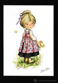 POSTAL DIBUJOS Y CARICATURAS - SERIE MARY MAY Nº 279/4 - COLECCION PERLA (Postales - Dibujos y Caricaturas)