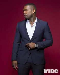 Omari Hardwick, 50 Cent, Rotimi & Joseph Sikora on the Cover of Vibe Magazine | Facial Lady