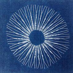 Swing Design, Indigo, Diy Wall Art, Diy Projects, Embroidery, Stitch, Instagram, Blue Tables, Blue Nails