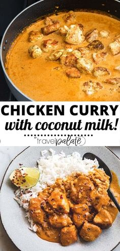 Coconut Milk Curry Recipe, Chicken Curry Coconut Milk, Coconut Milk Recipes, Turkey Curry Recipe, Curried Lentil Soup, Curry Dishes, Easy Dinner Recipes, Dinner Ideas, Curry Recipes