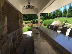 Campbell Exteriors LLC Pool bar