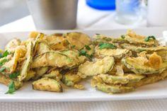 Okra, Potato Salad, Shrimp, Potatoes, Snacks, Chicken, Vegetables, Ethnic Recipes, Food