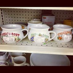 vintage soup bowls #thrifted #goodwill