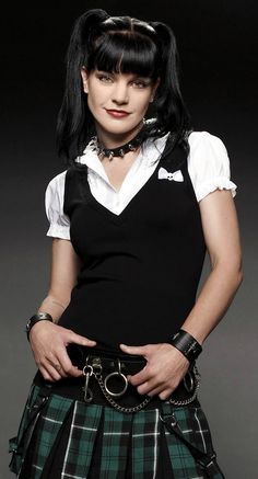 Pauley Perrette. Love her.